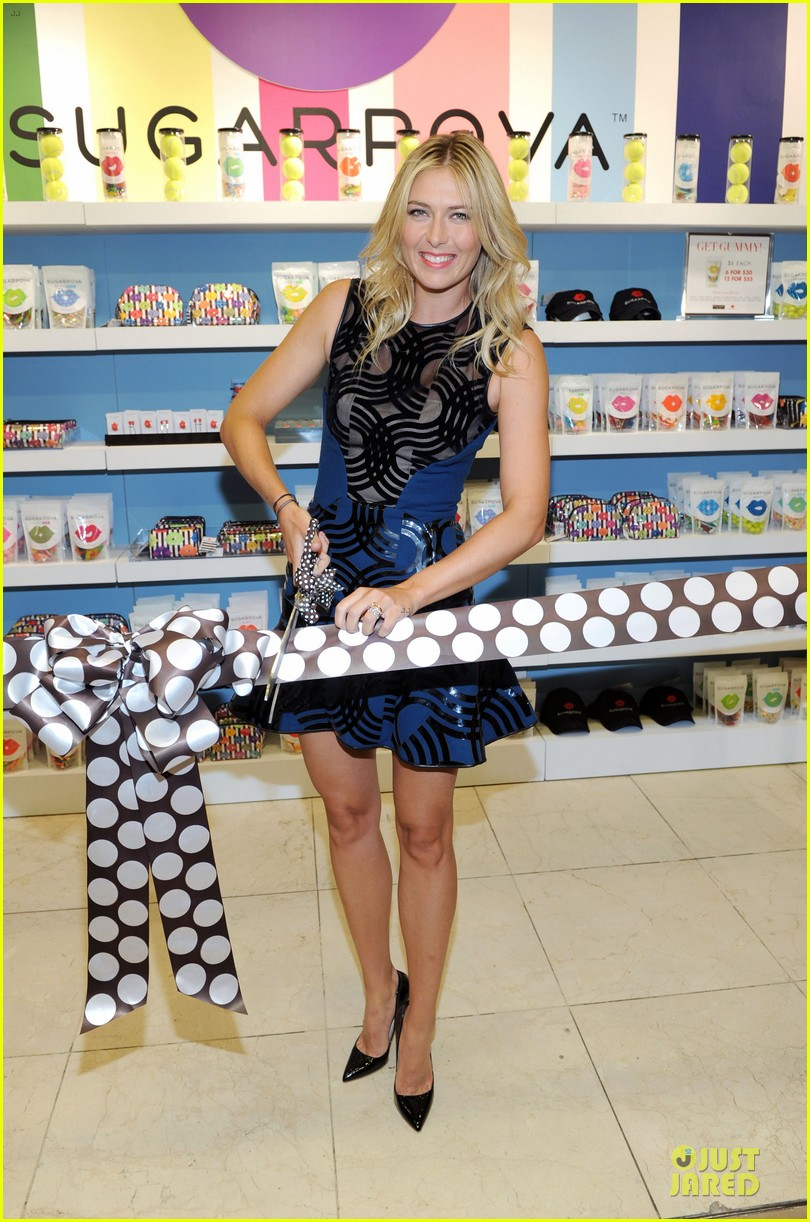 maria sharapova sugarpova accessory collection launch 012934479