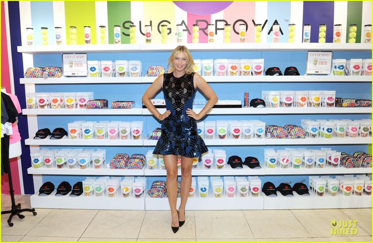 maria sharapova sugarpova accessory collection launch 13