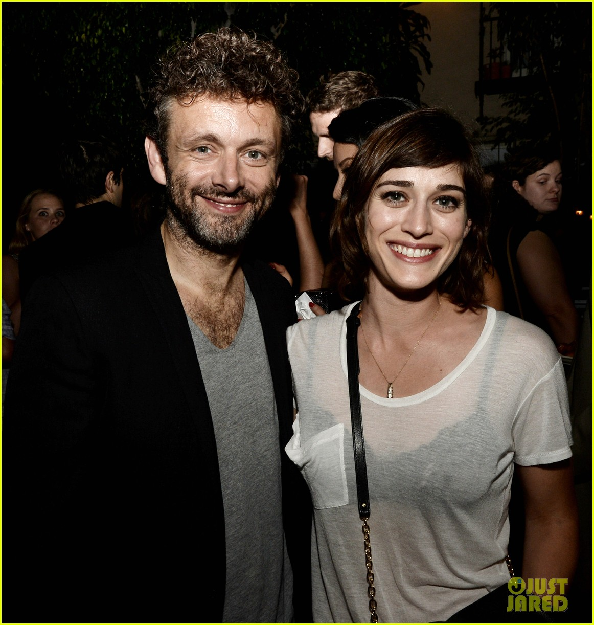 michael sheen lizzy caplan worlds end after party 06
