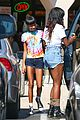 willow smith matches tye dyed hair with tye dyed shirt 07