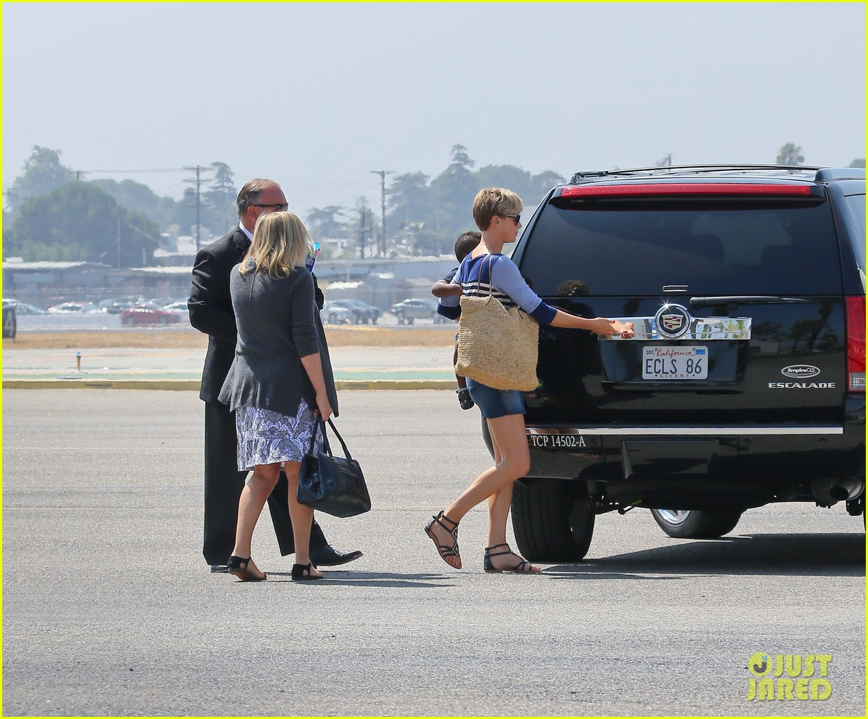 charlize theron jackson depart in los angeles together 10