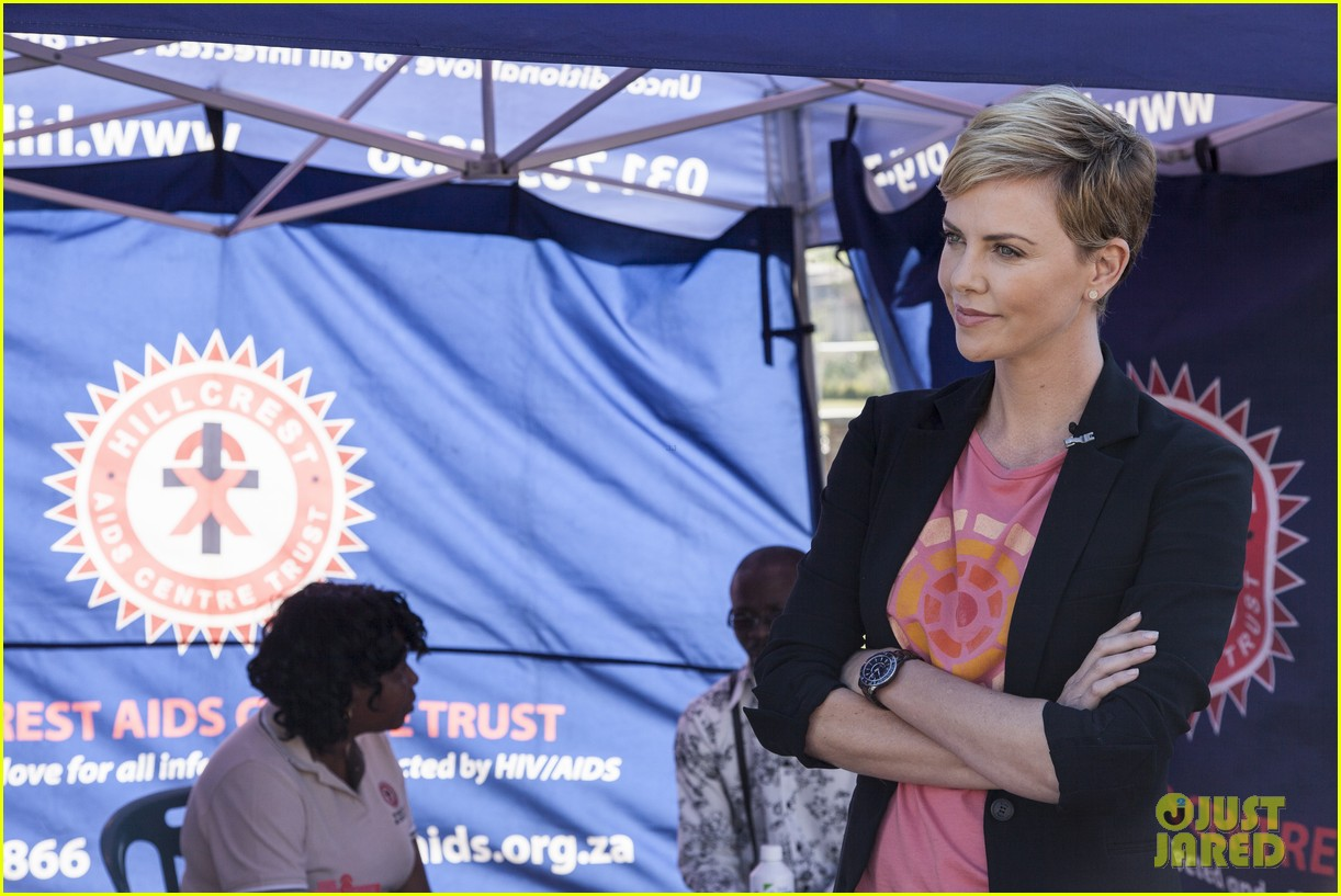 charlize theron visits youth ambassador project in south africa 01
