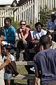 charlize theron visits youth ambassador project in south africa 05