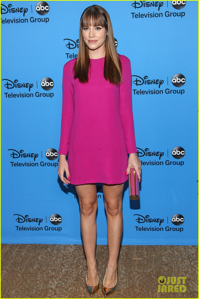 emily vancamp joshua bowman tcas disneyabc party 032923840