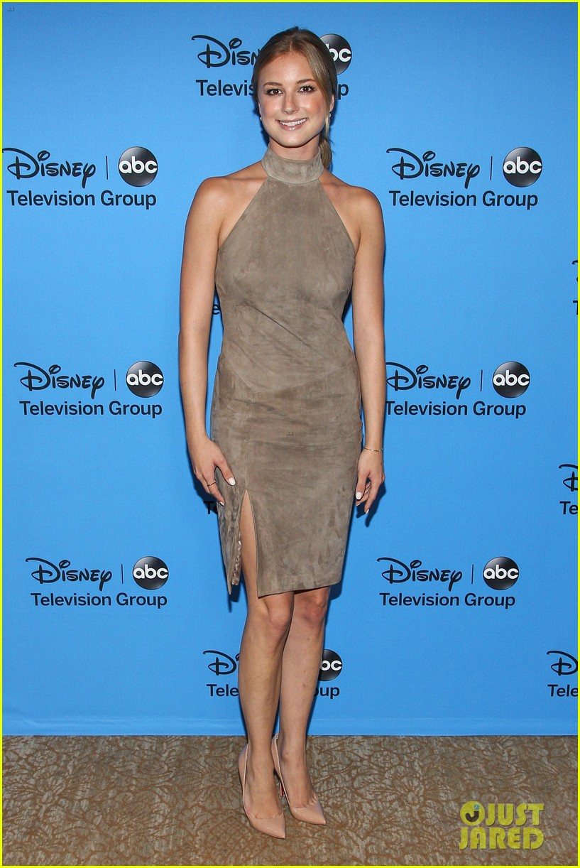 emily vancamp joshua bowman tcas disneyabc party 14