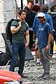mark wahlberg bloody head wounds on transformers 4 set 10