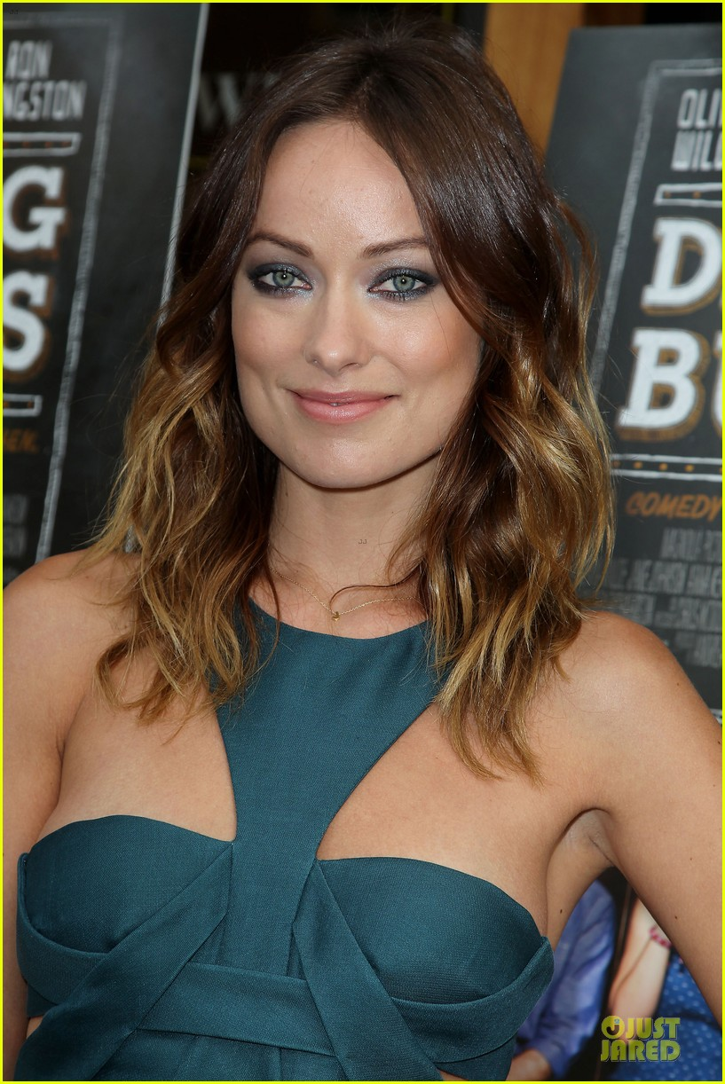olivia wilde drinking buddies nyc screening 06