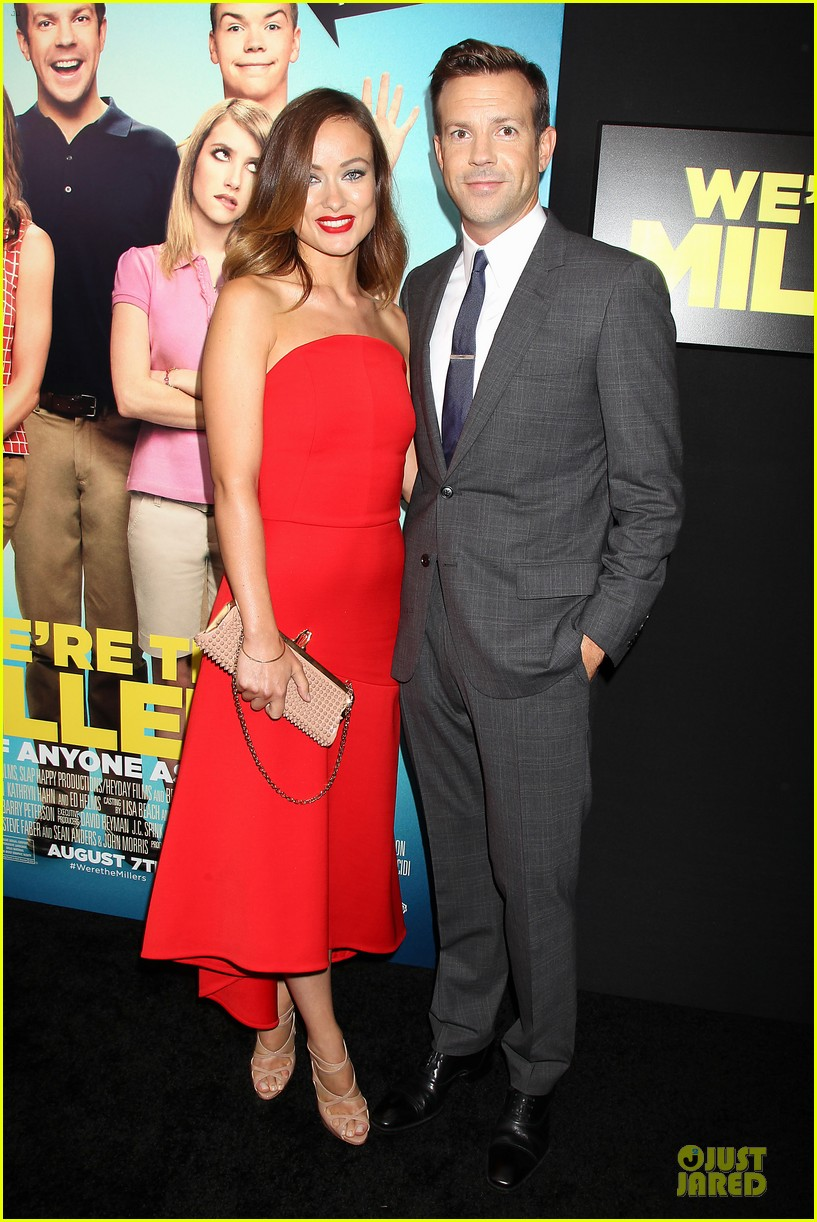 olivia wilde jason sudeikis were the millers nyc premiere 11