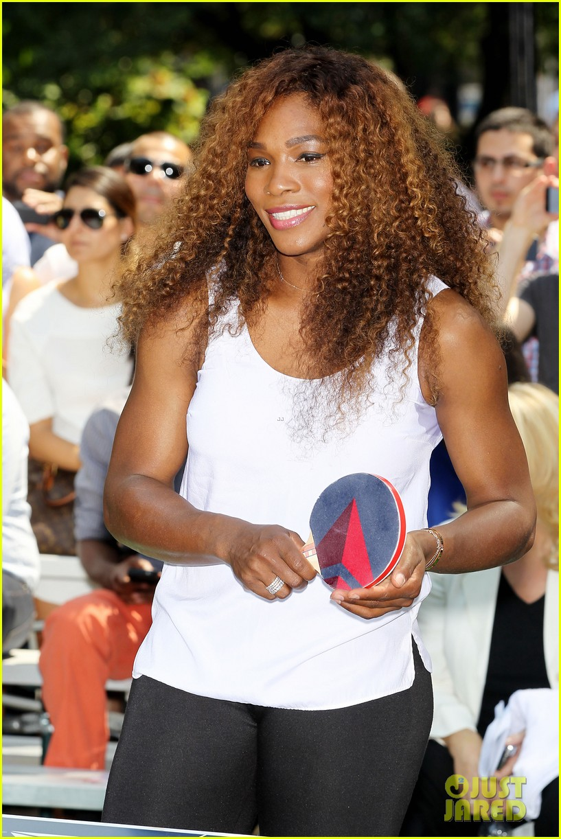 serena williams sports two hairstyles in one day 16