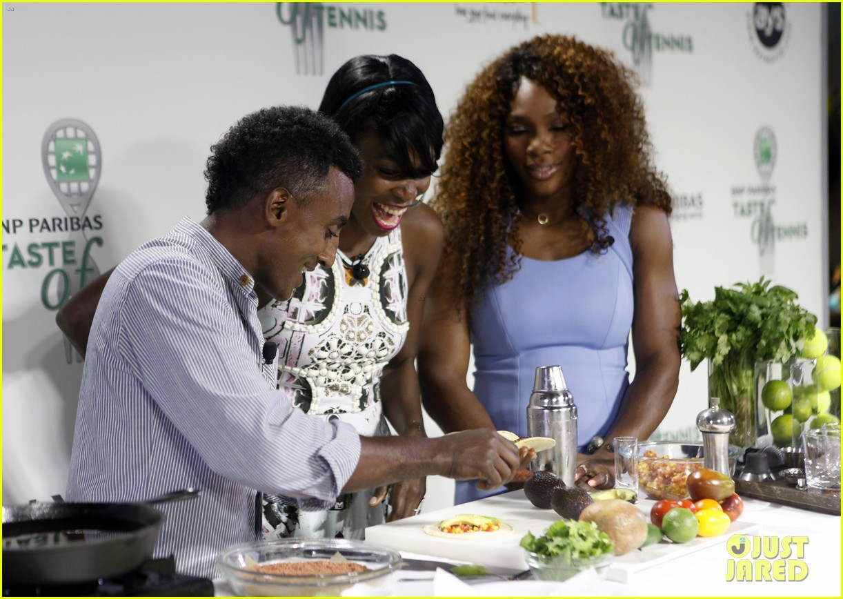 serena williams bnp paribas taste of tennis with venus 122935873