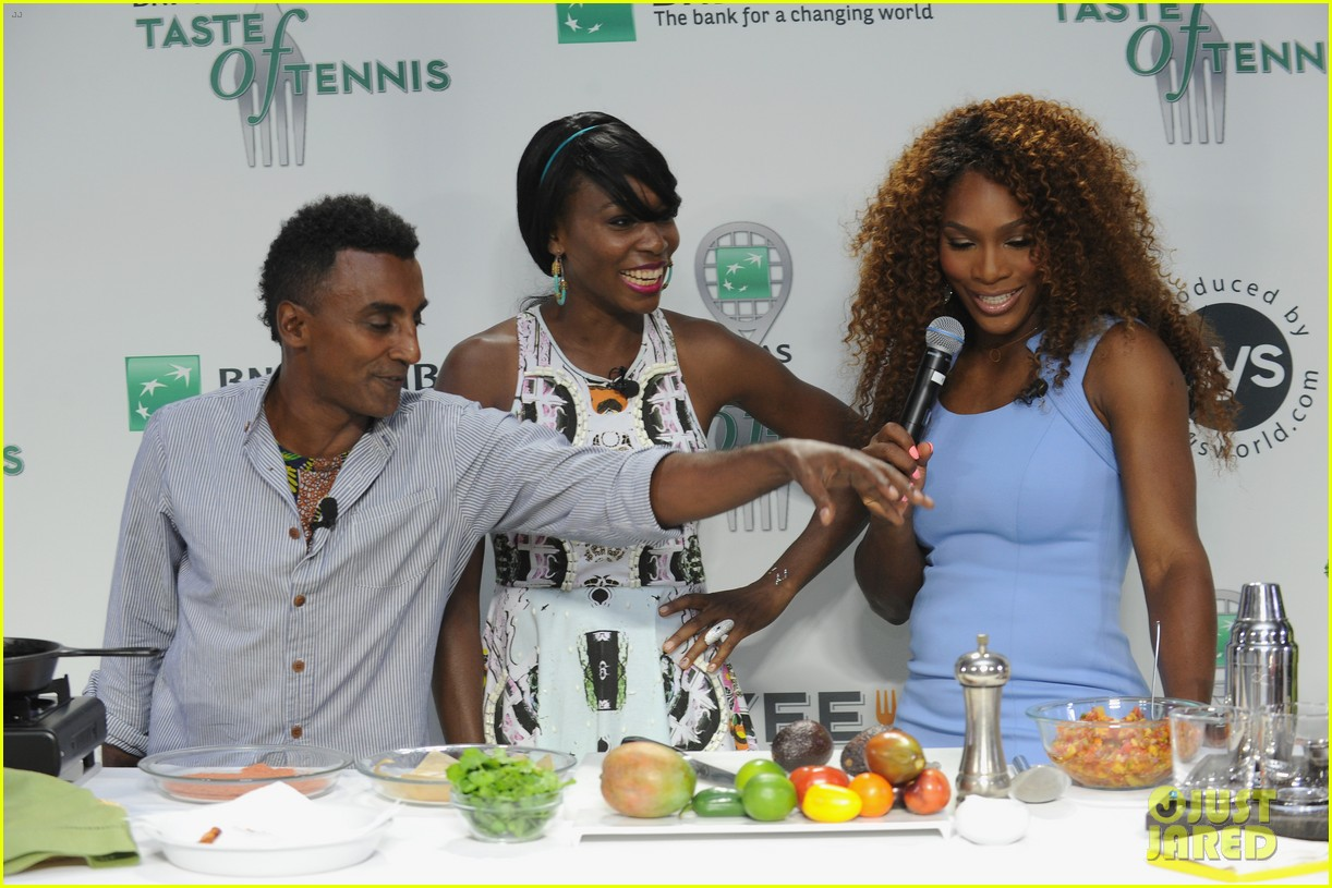 serena williams bnp paribas taste of tennis with venus 162935877
