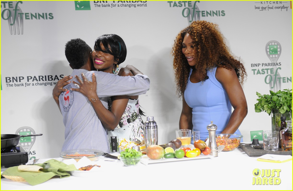serena williams bnp paribas taste of tennis with venus 192935880