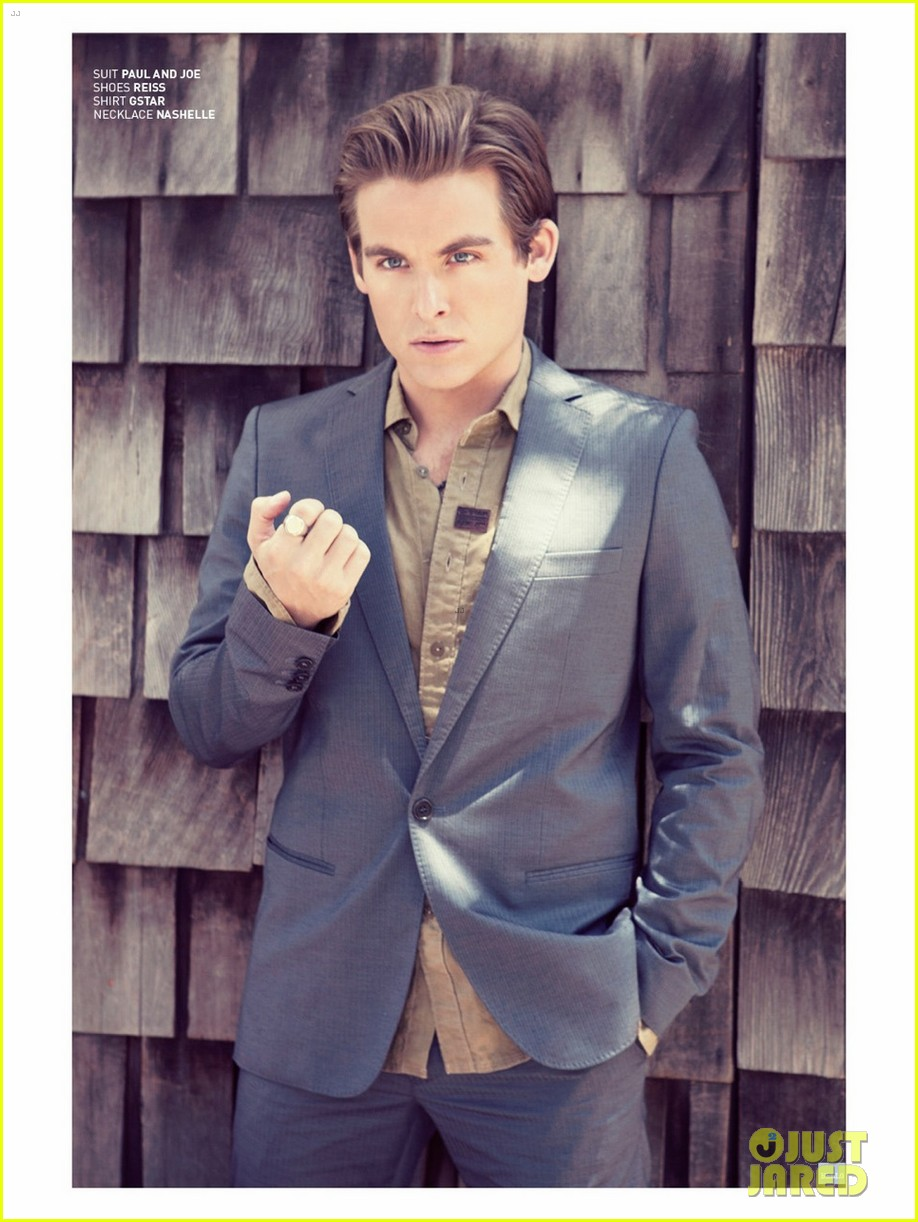 kevin zegers talks cory monteith death received his ashes 092924959