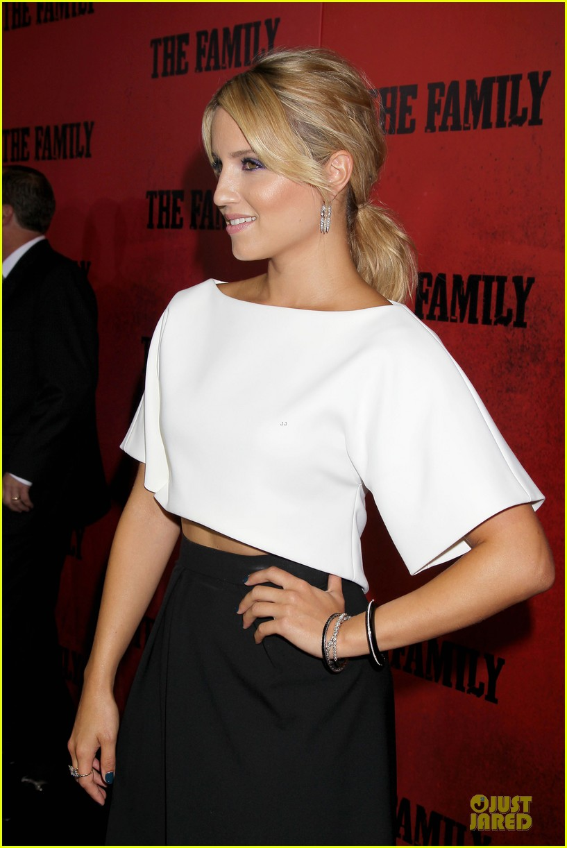 dianna agron michelle pfeiffer the family nyc premiere 15