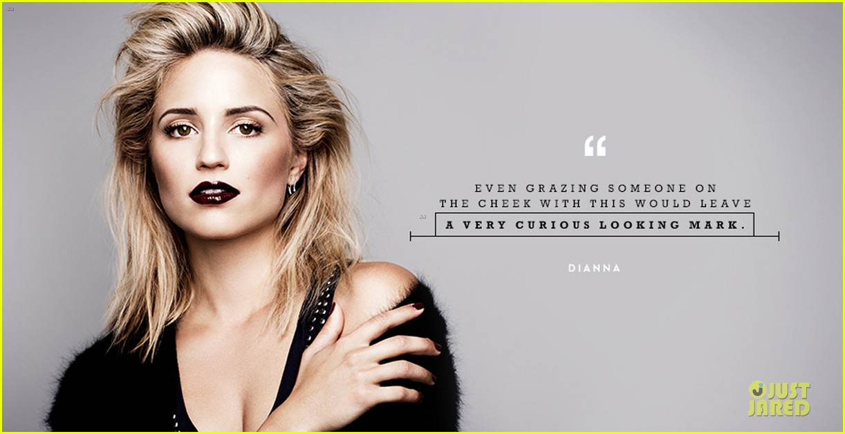dianna agron i wear dark lipstick for special occasions 052951783