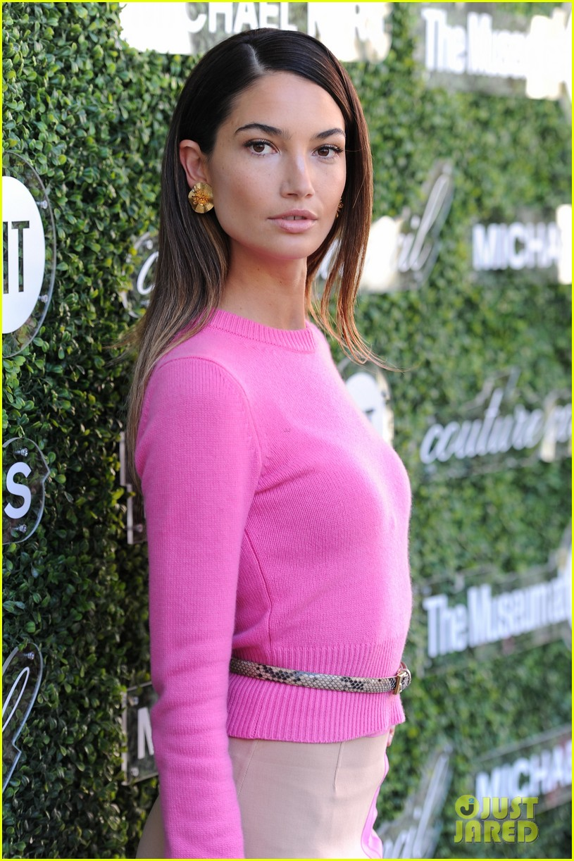 lily aldridge doutzen kroes couture lunch honoring michael kors 08