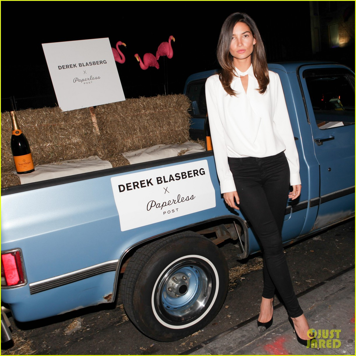 lily aldridge derek blasberg stationary launch 10