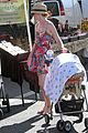 elizabeth banks plays peek a boo with son magnus 04