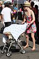 elizabeth banks plays peek a boo with son magnus 07