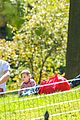drew barrymore will kopelman central park fun with olive 09