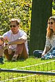 drew barrymore will kopelman central park fun with olive 16