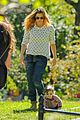 drew barrymore will kopelman central park fun with olive 19