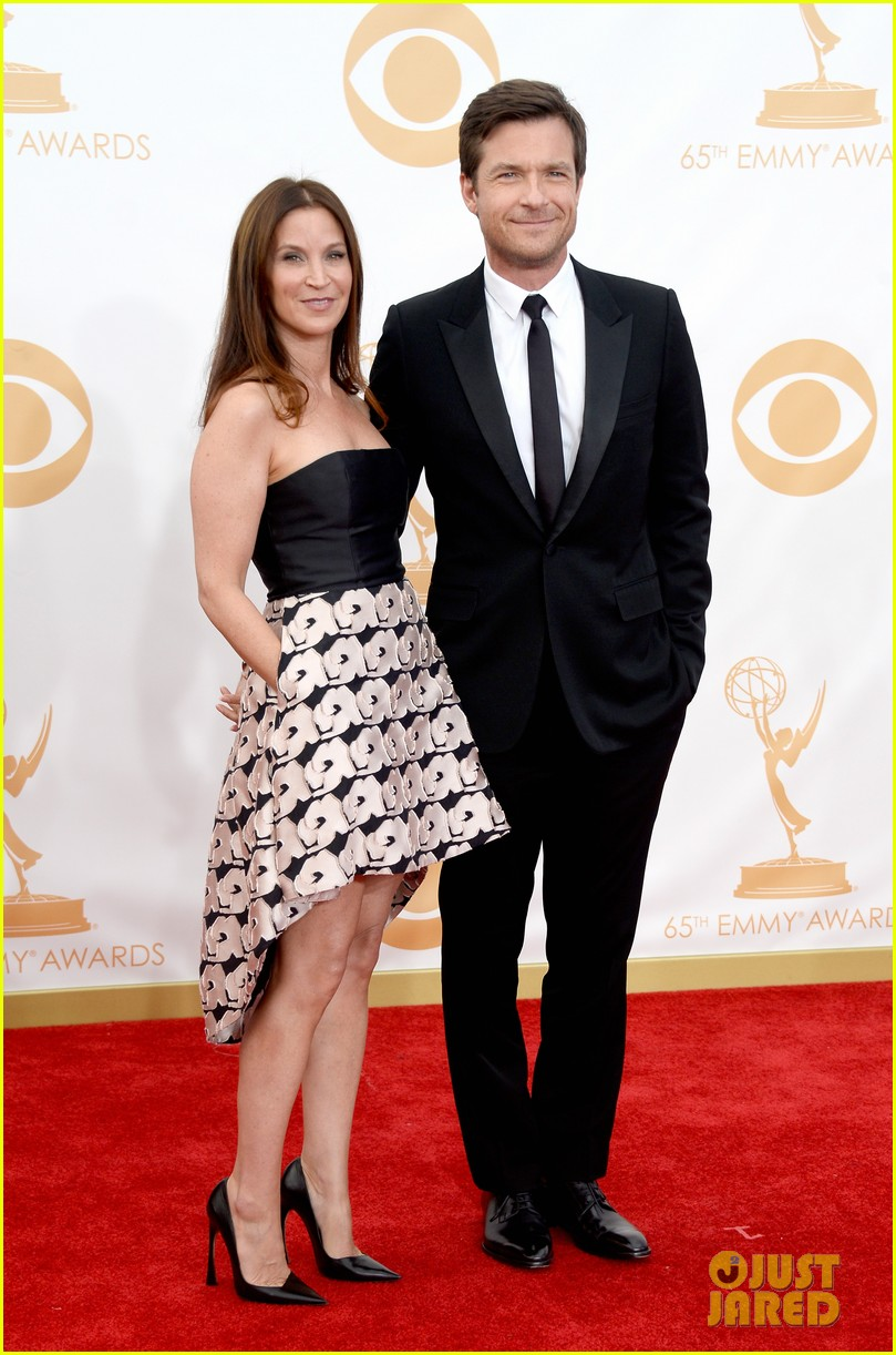 jason bateman will arnett emmys 2013 red carpet 06