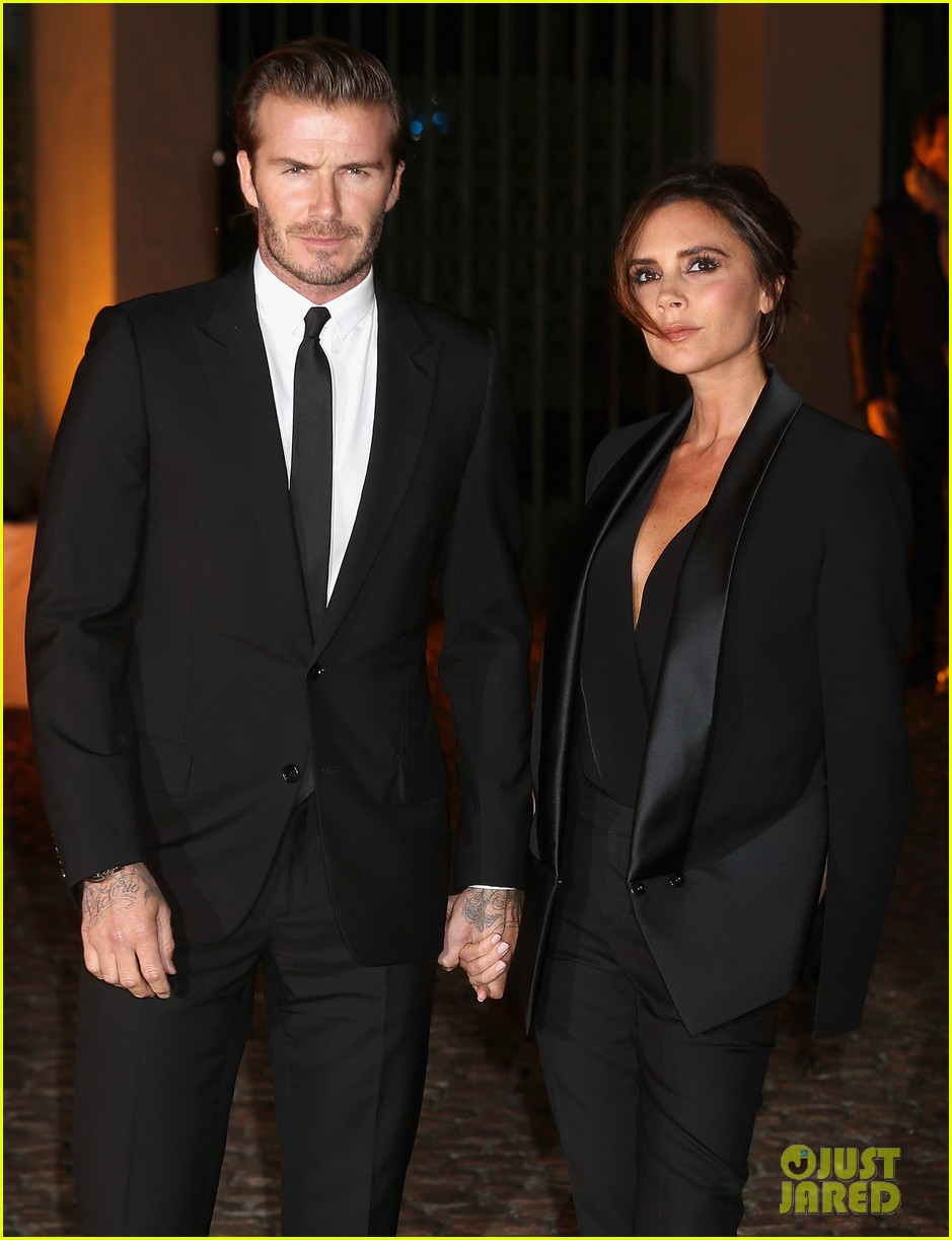david victoria beckham global fund celebration 10