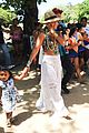beyonce shows off soccer skills at brazil public school 01