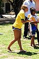 beyonce shows off soccer skills at brazil public school 05
