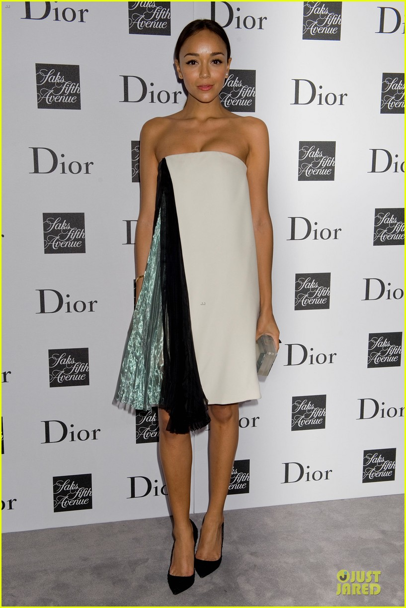 jessica biel ashley madekwe dior pret a porter dinner 032945841