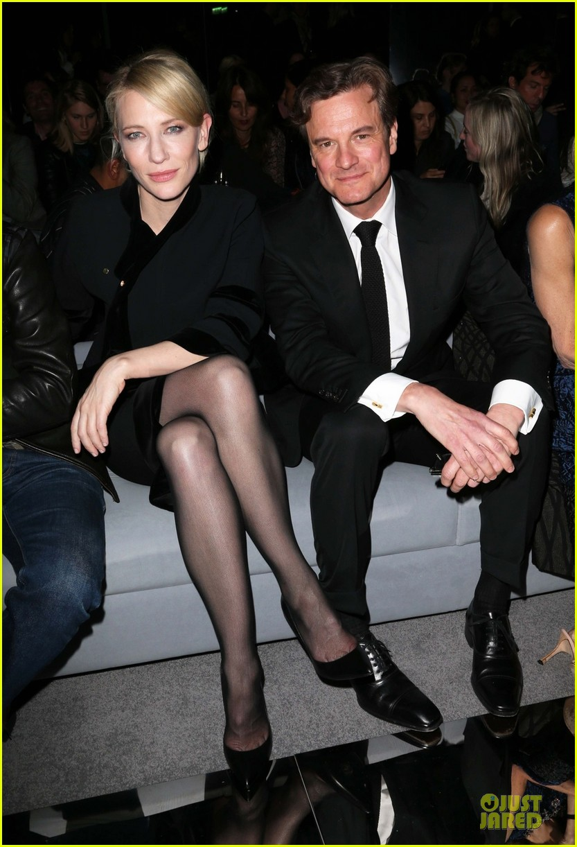 cate blanchett colin firth tom ford fashion show 032953914