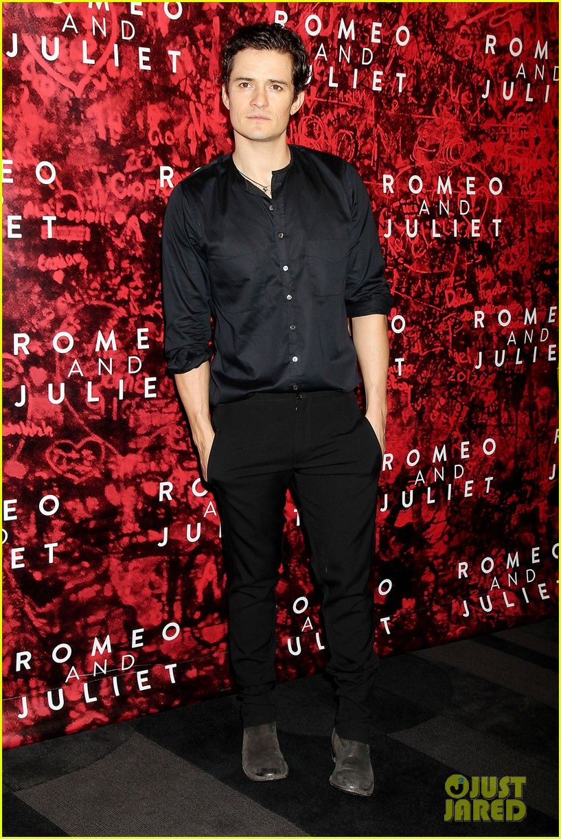 orlando bloom romeo juliet opening with condola rashad 05