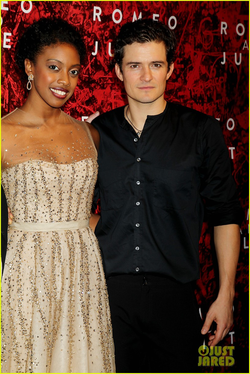 orlando bloom romeo juliet opening with condola rashad 12