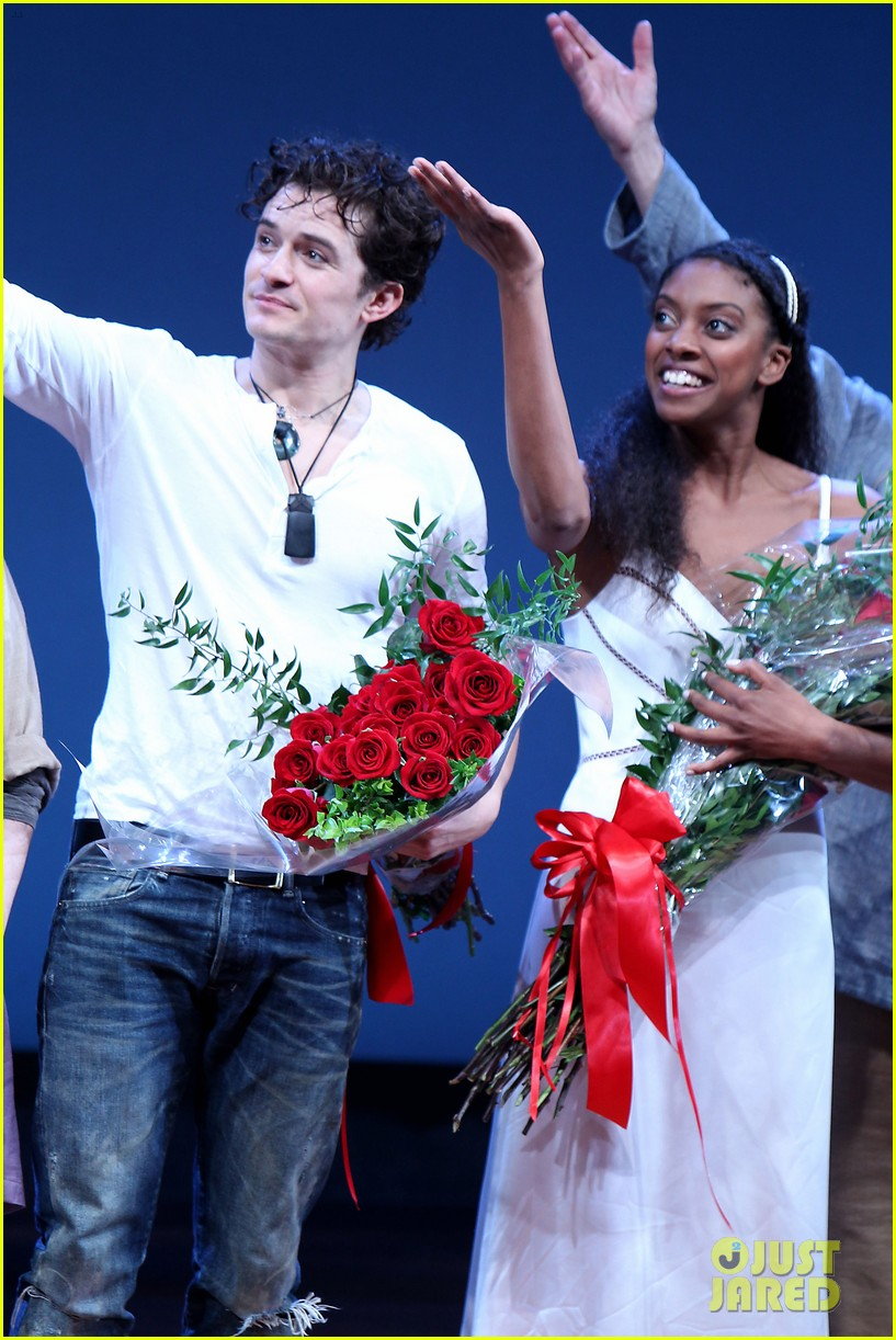 orlando bloom romeo juliet opening with condola rashad 16