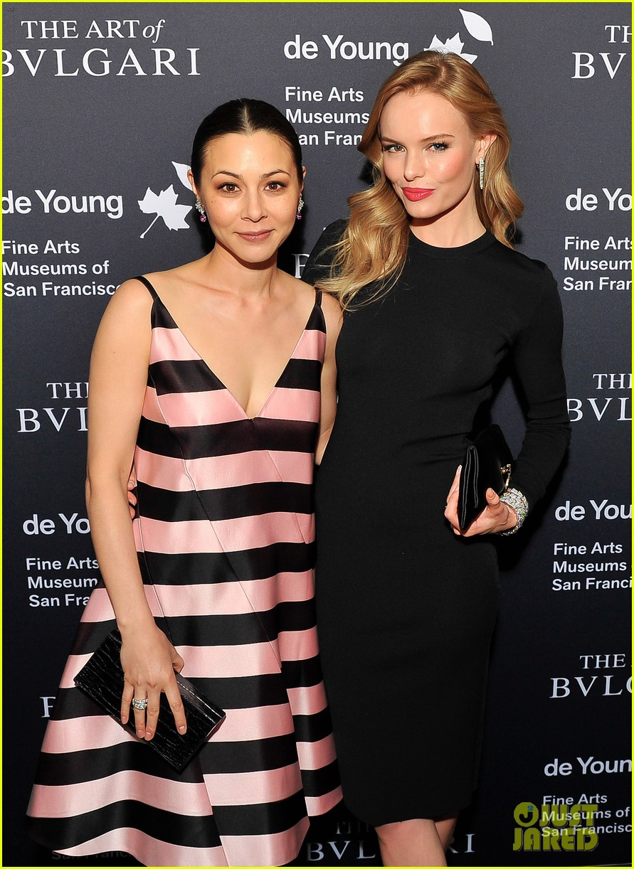 kate bosworth michael polish bvlgari retrospective opening 082955184