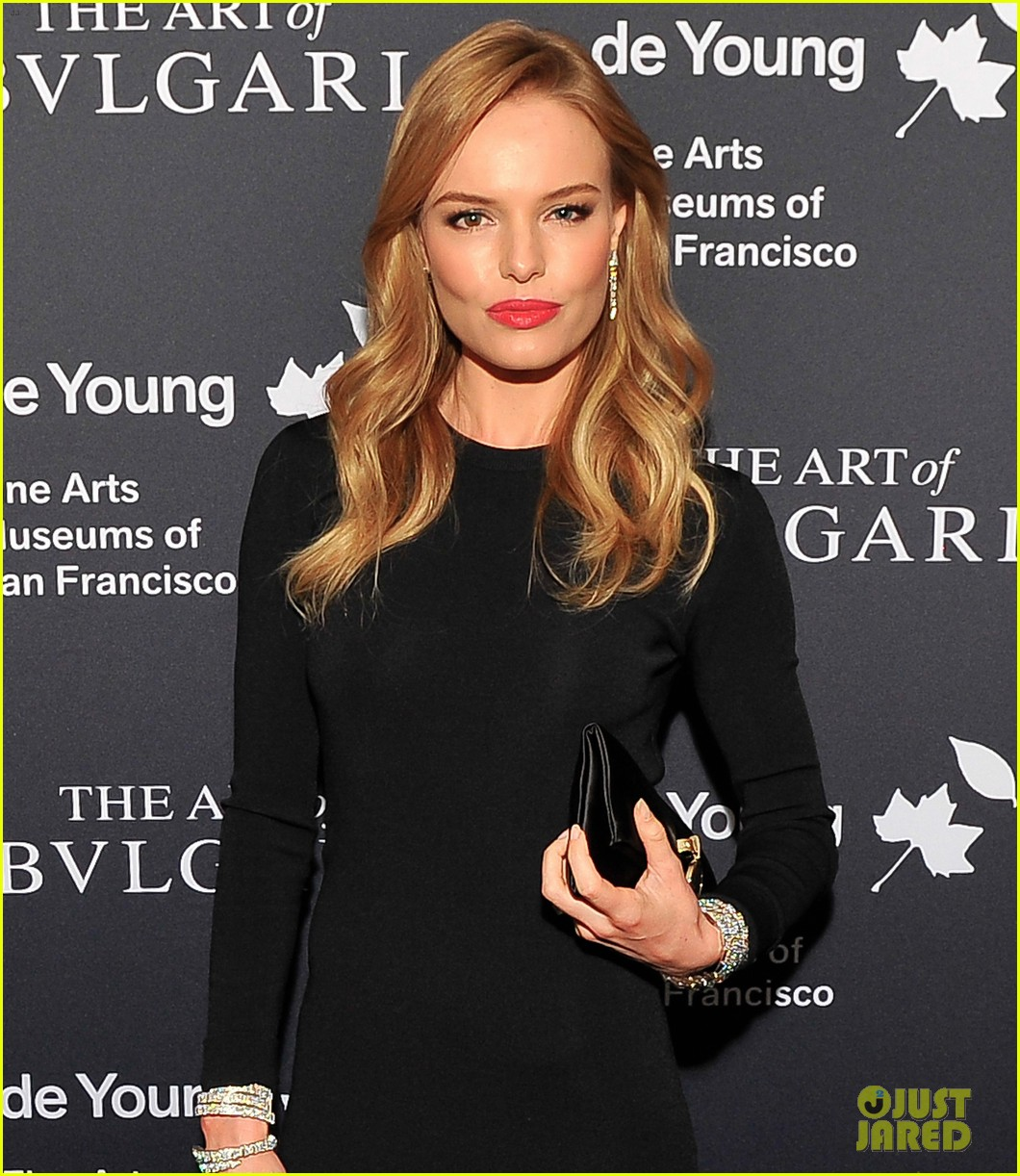 kate bosworth michael polish bvlgari retrospective opening 09