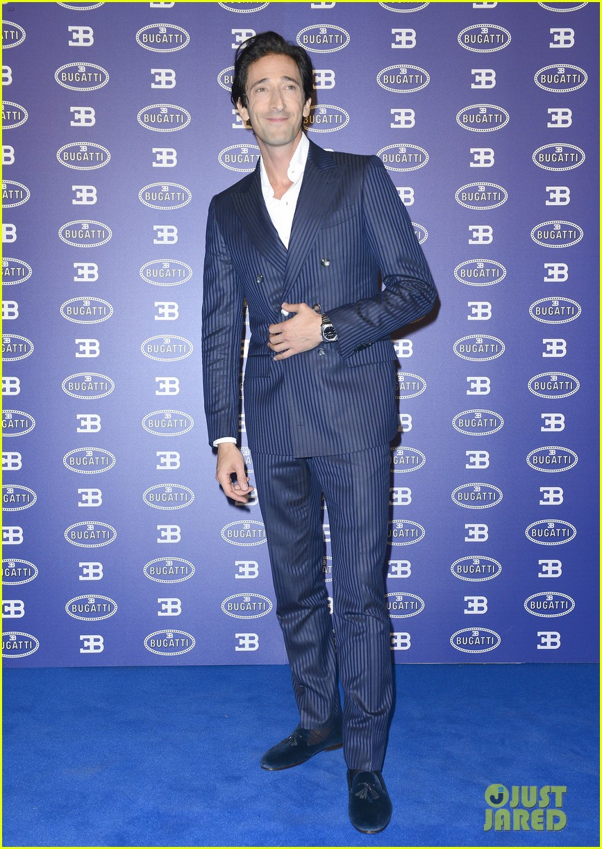 adrien brody bugatti lifestyle collections launch 042955985