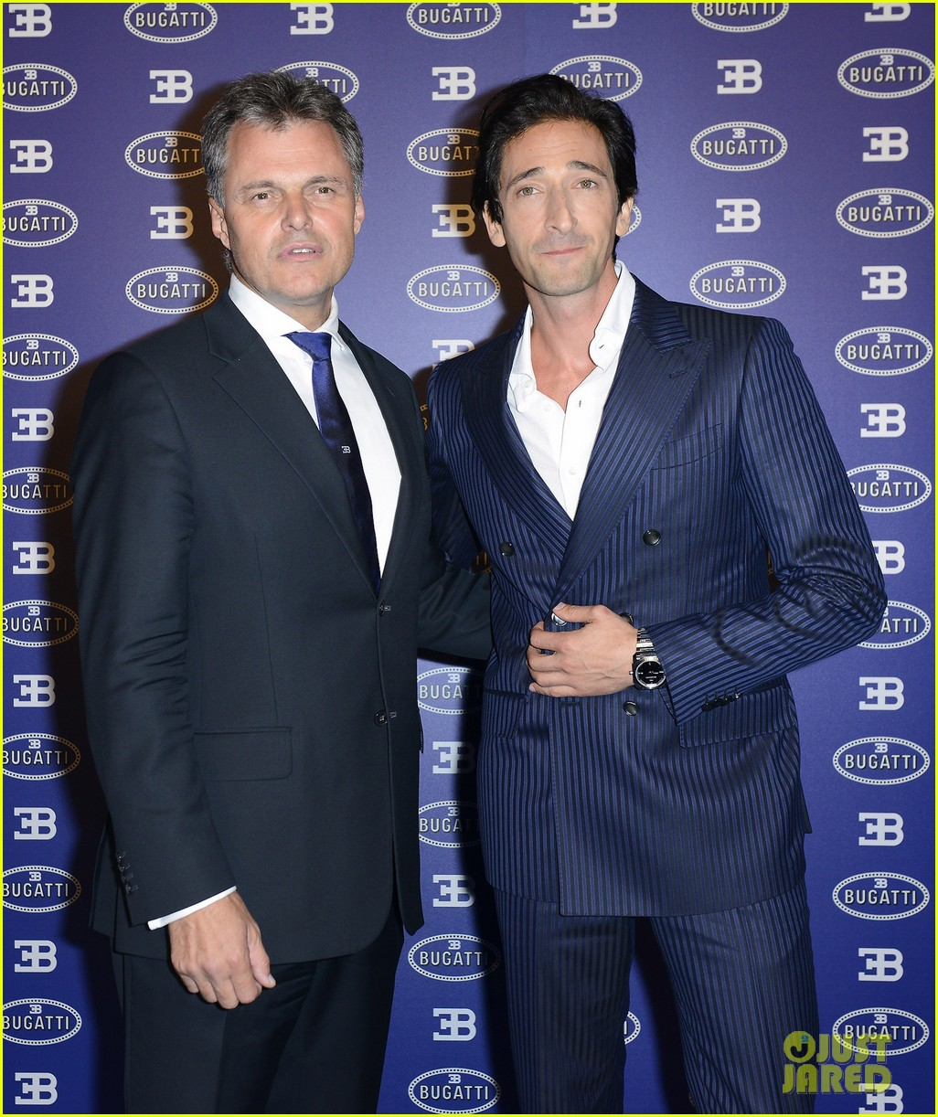 adrien brody bugatti lifestyle collections launch 082955989