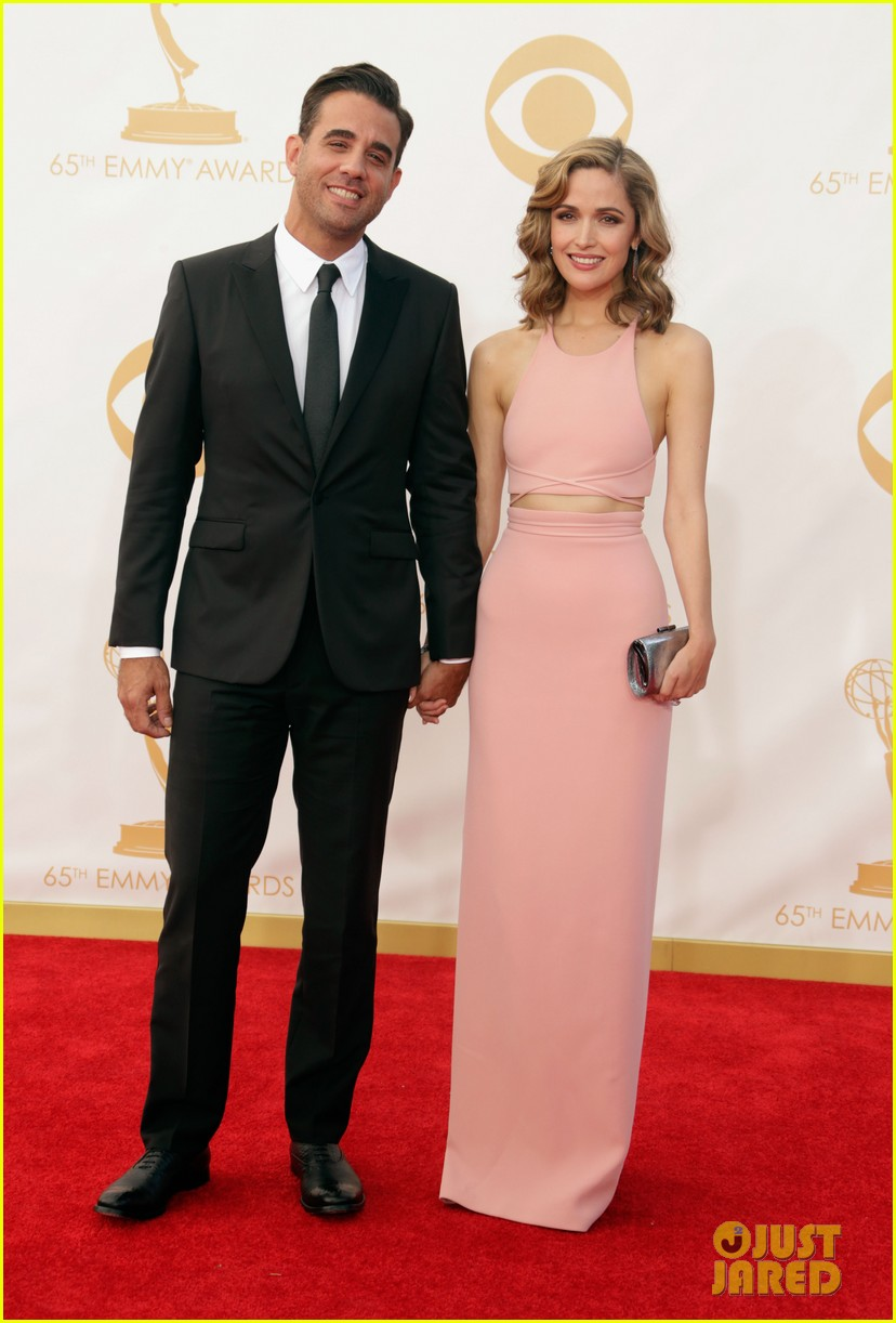 rose byrne bobby cannavale emmys red carpet 02