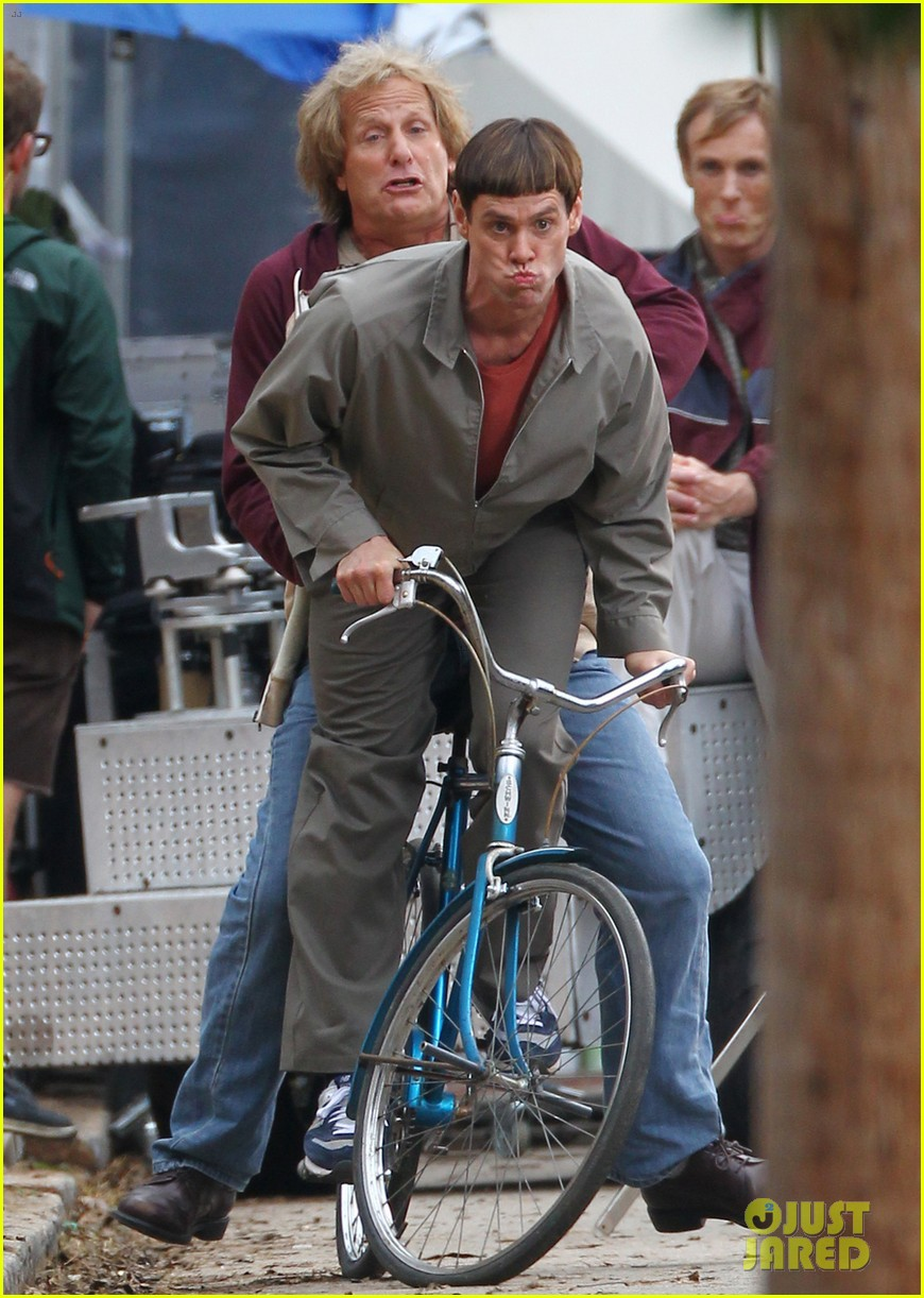 jim carrey jeff daniels begin filming dumb and dumber to 06