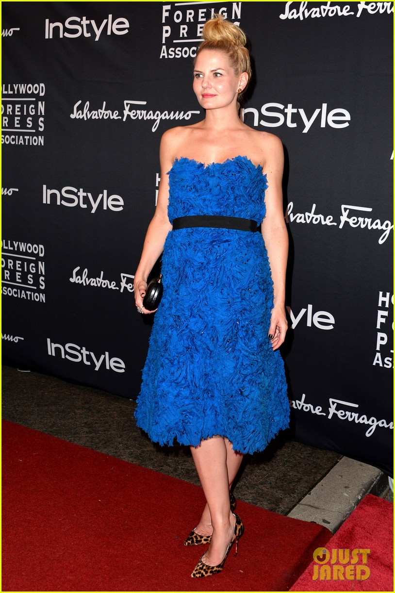 jessica chastain jennifer morrison hfpa instyle tiff party 032949110