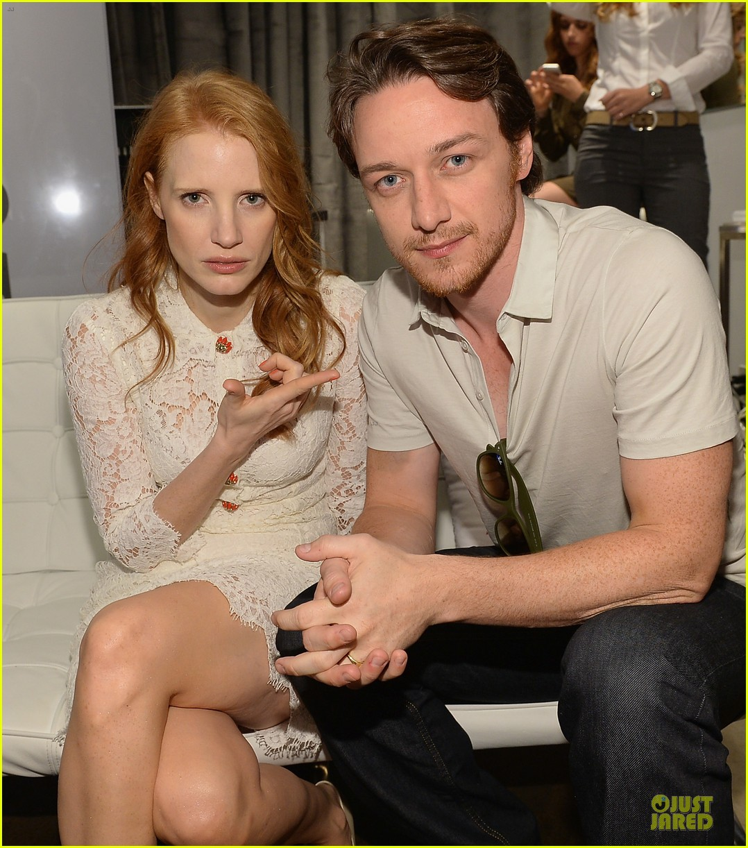 jessica chastain james mcavoy disappearance of eleanor rigby tiff premiere 042948477
