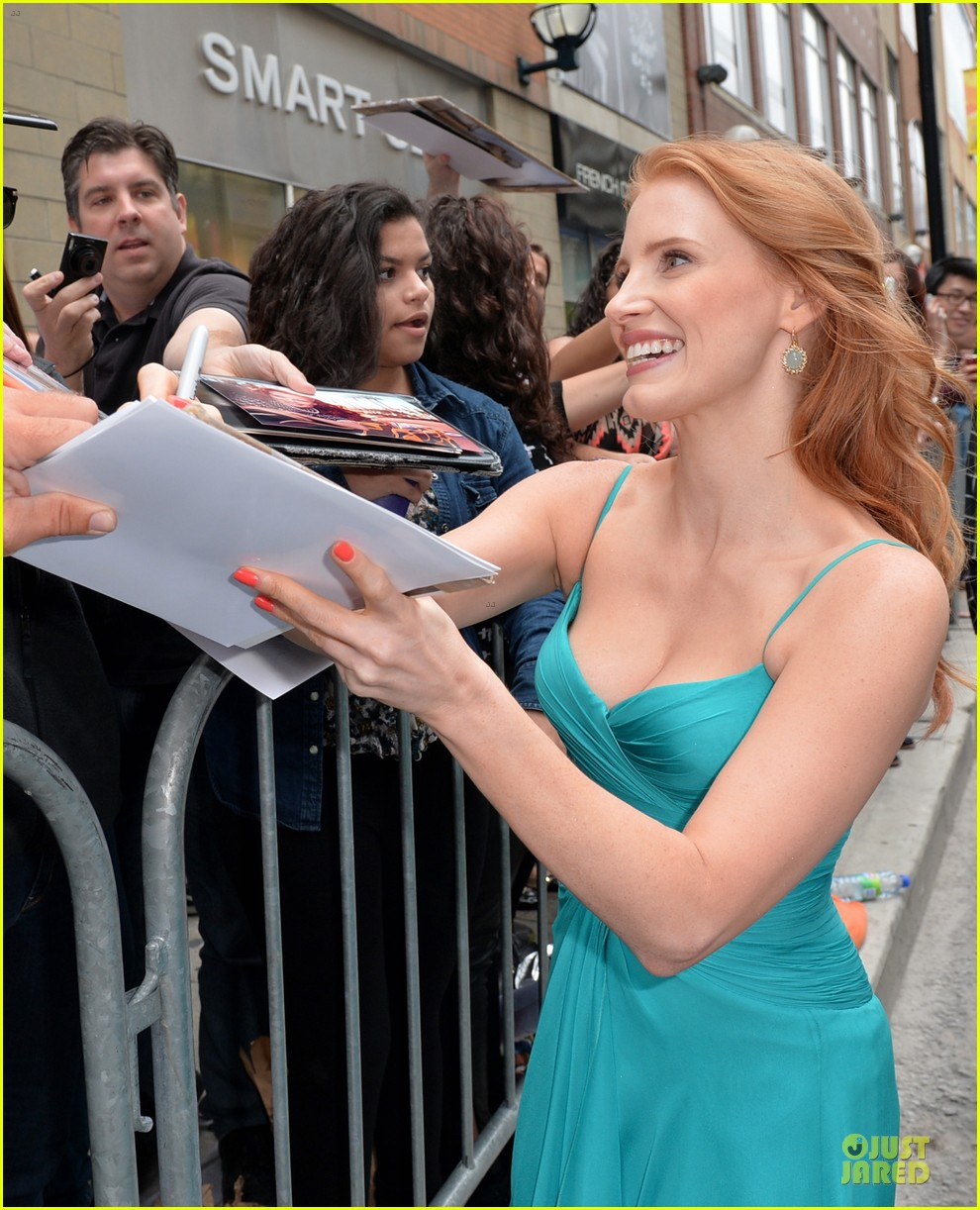 jessica chastain james mcavoy disappearance of eleanor rigby tiff premiere 232948496
