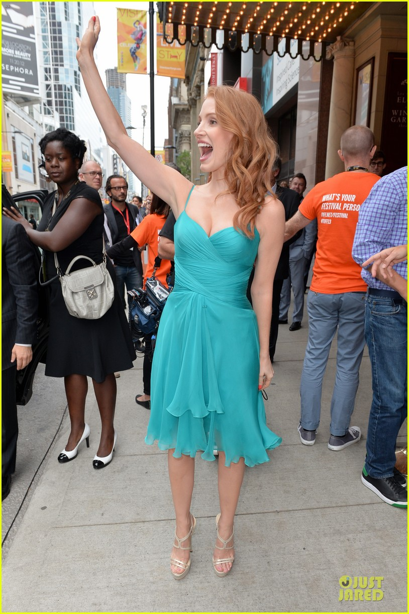 jessica chastain james mcavoy disappearance of eleanor rigby tiff premiere 242948497