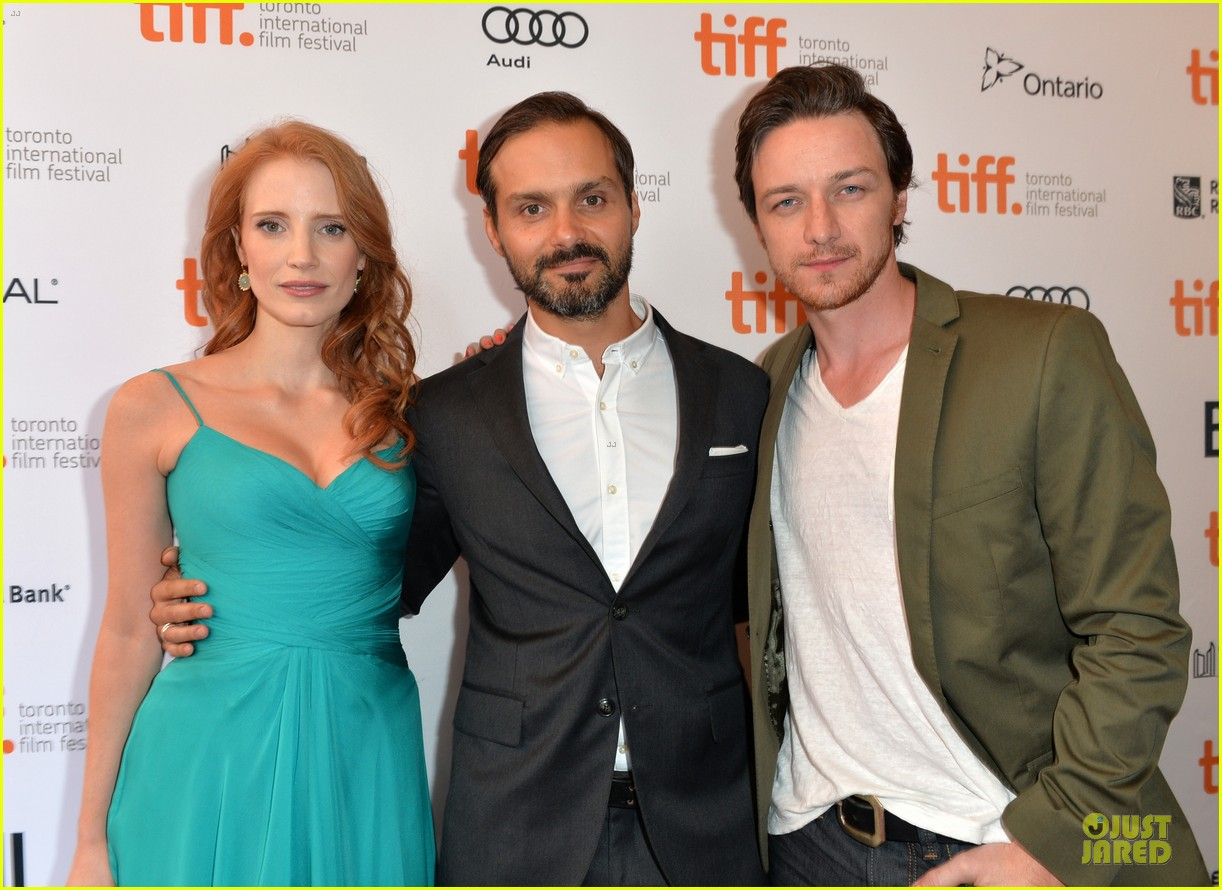 jessica chastain james mcavoy disappearance of eleanor rigby tiff premiere 31