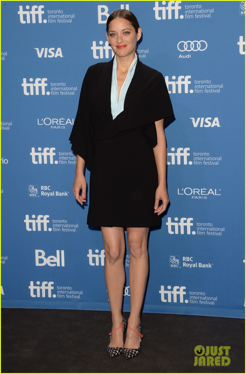marion cotillard blood ties tiff press conference 13
