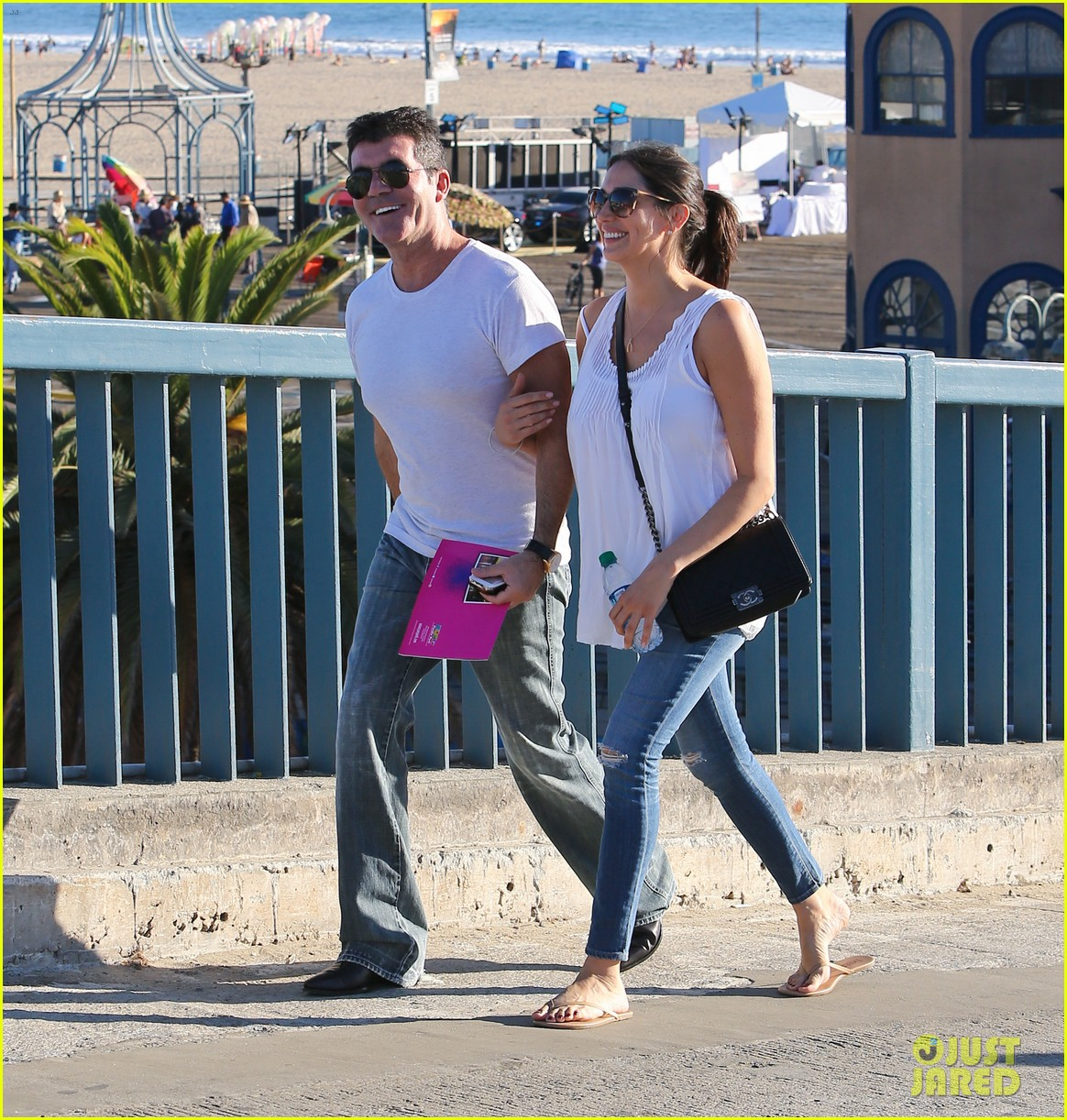 simon cowell lauren silverman weekend lovers 04