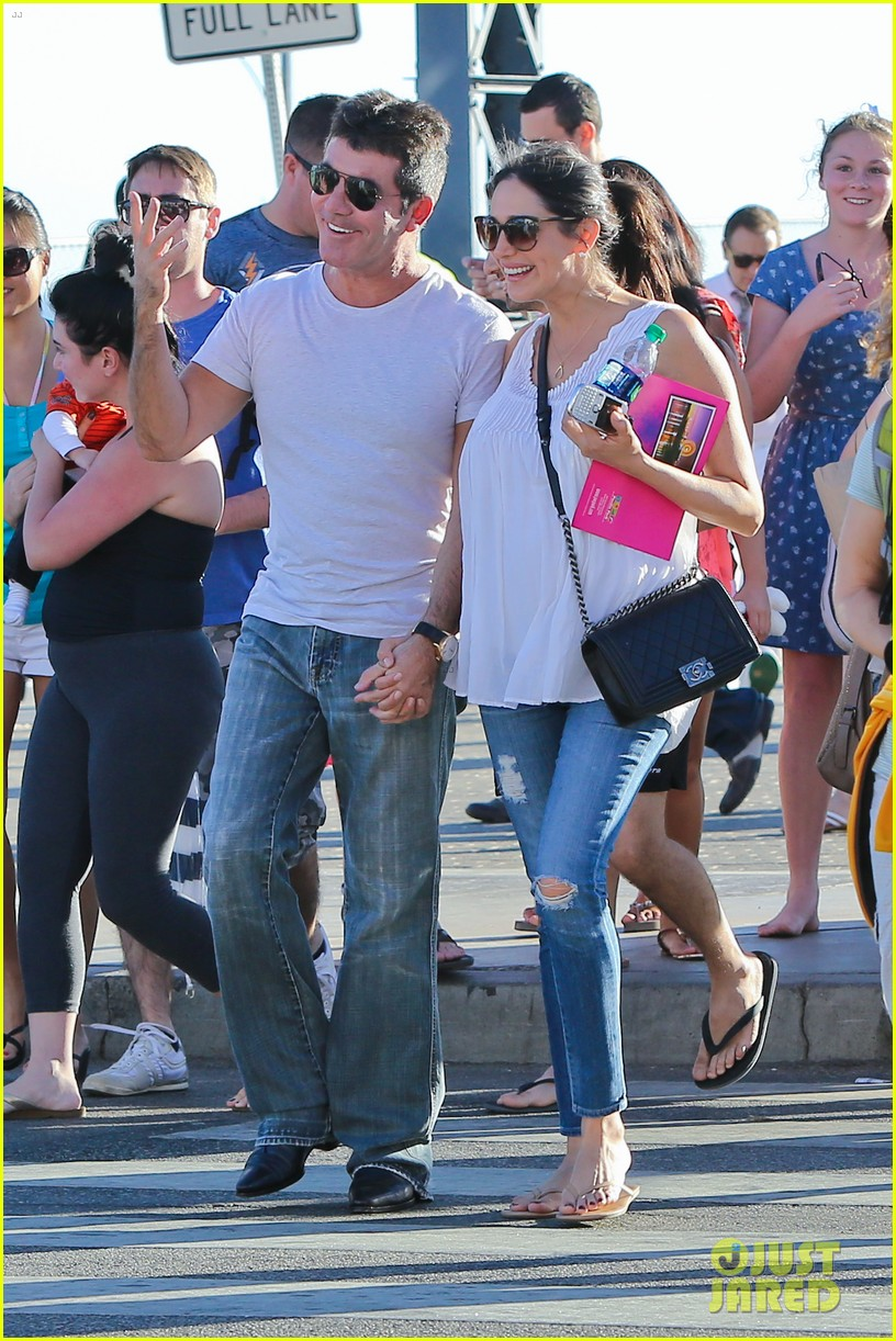 simon cowell lauren silverman weekend lovers 082963052