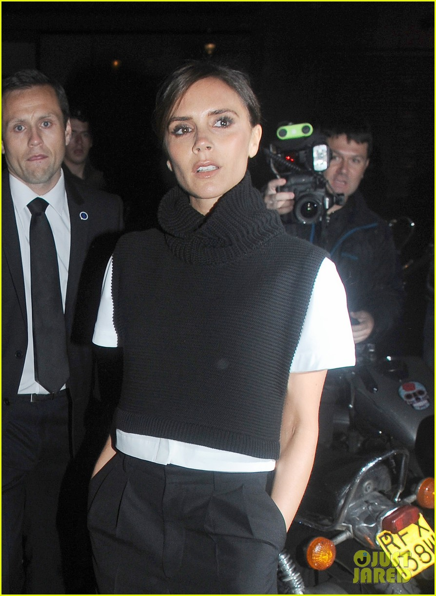 victoria david beckham separate london events 16